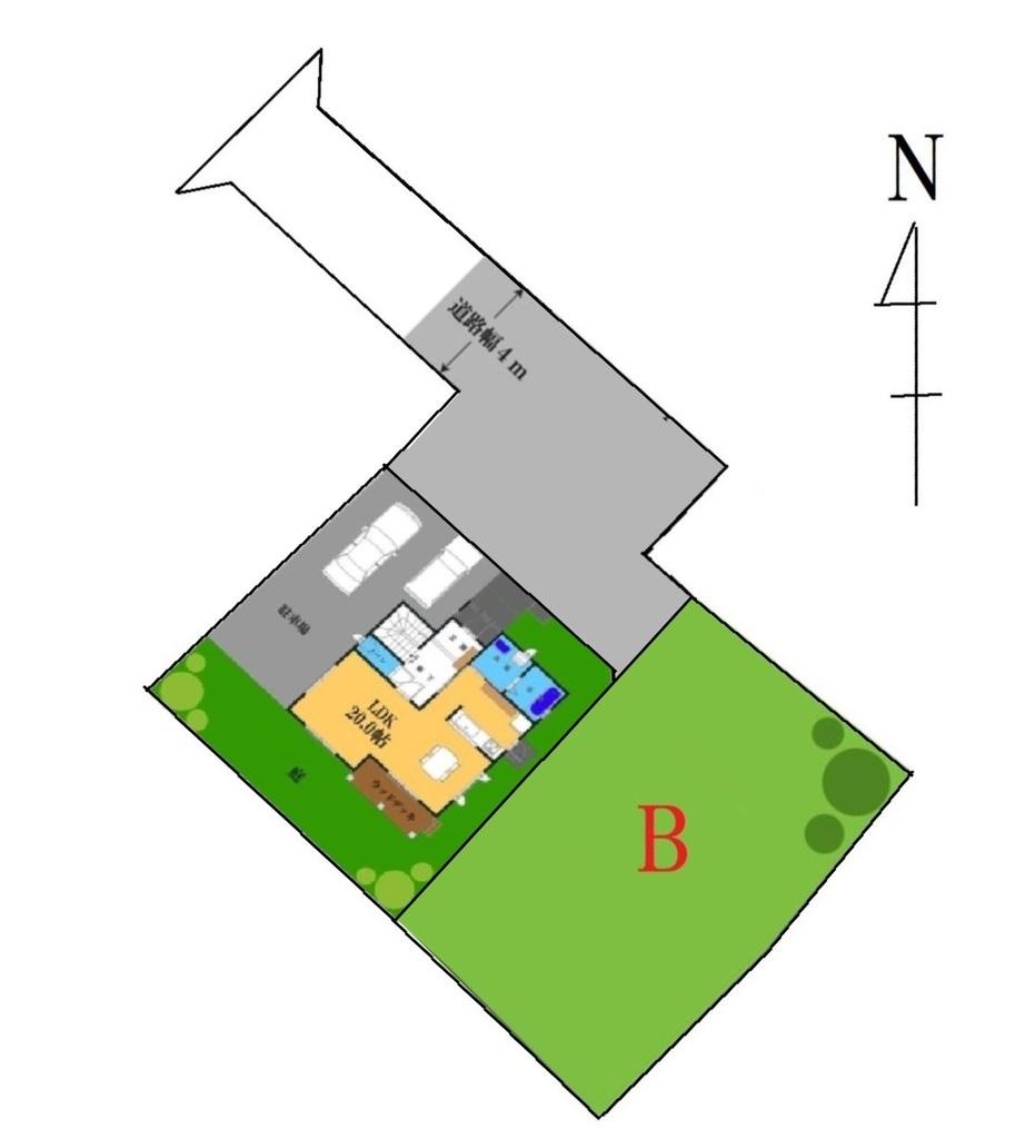 建築プラン(A区画)
